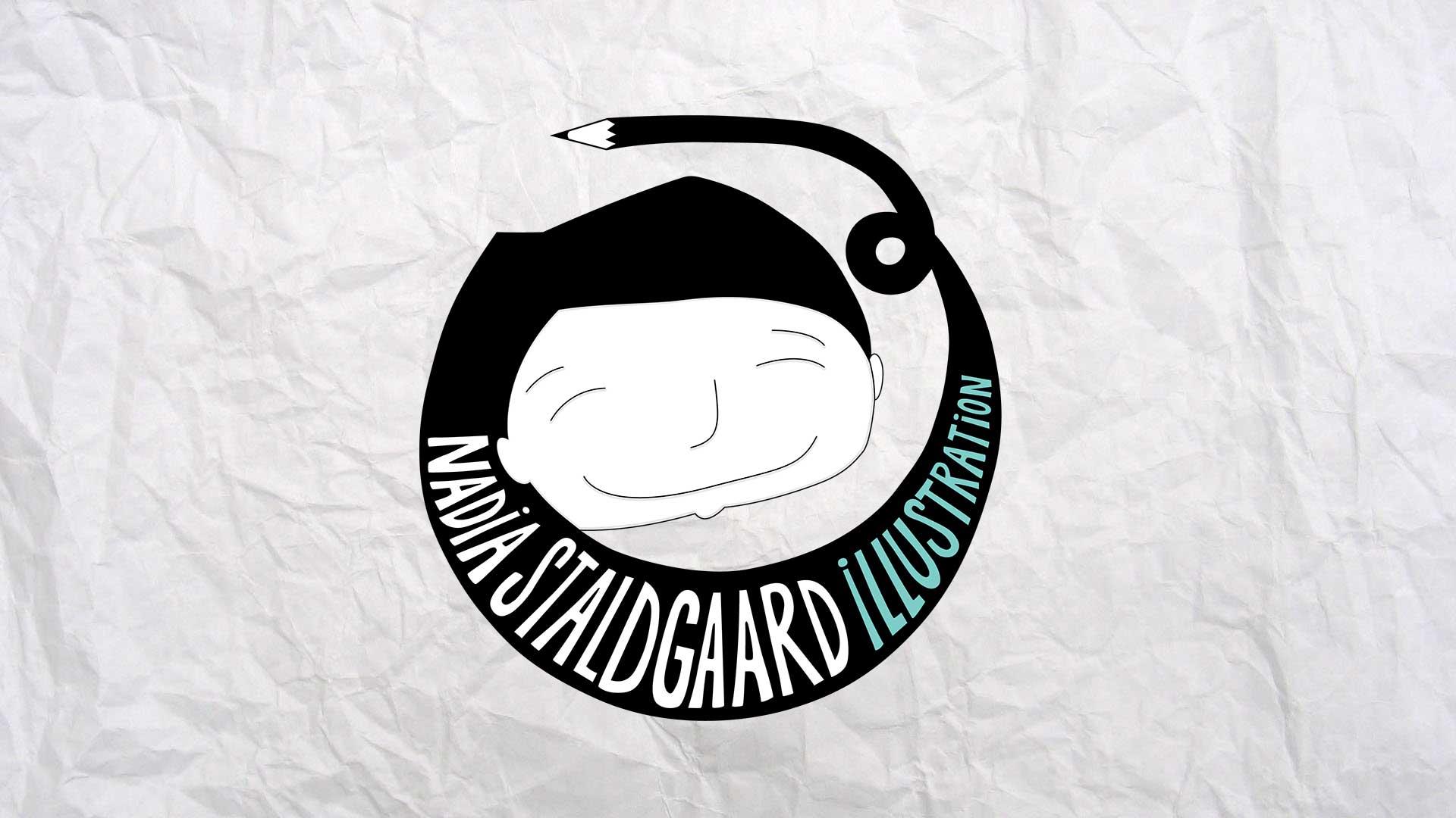 Logo Nadia Staldgaard Illustration
